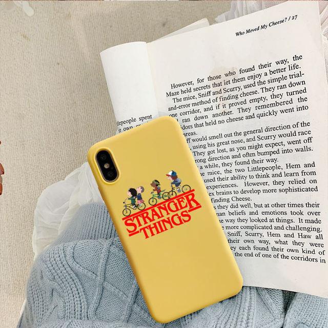 STRANGER THINGS IPHONE CASE (4 VARIAN)