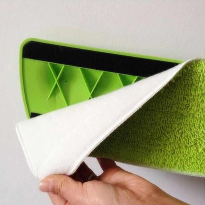 Kepala Pel Pembersih Lantai Pengganti Kain Microfiber Pengganti Mop Pad Paste Kain Penutup Home Semprot Air Penyemprotan Datar Debu