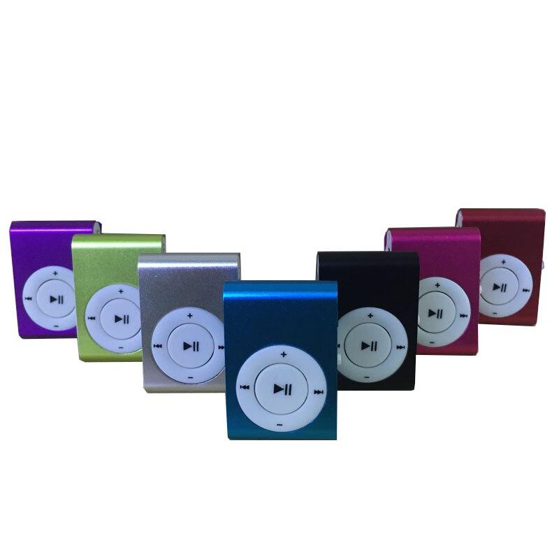 Mini Portable MP3 Music Player Mini Portable Clip MP3 Music Player fashion Sport Mini Clip Mp3 Music Player Walkman Lettore