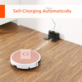 ILIFE V7s Plus Robot Vacuum Cleaner Sweep and Wet Mopping Floors&Carpet Run 120mins Auto Reharge,Appliances,Household tool dust 5