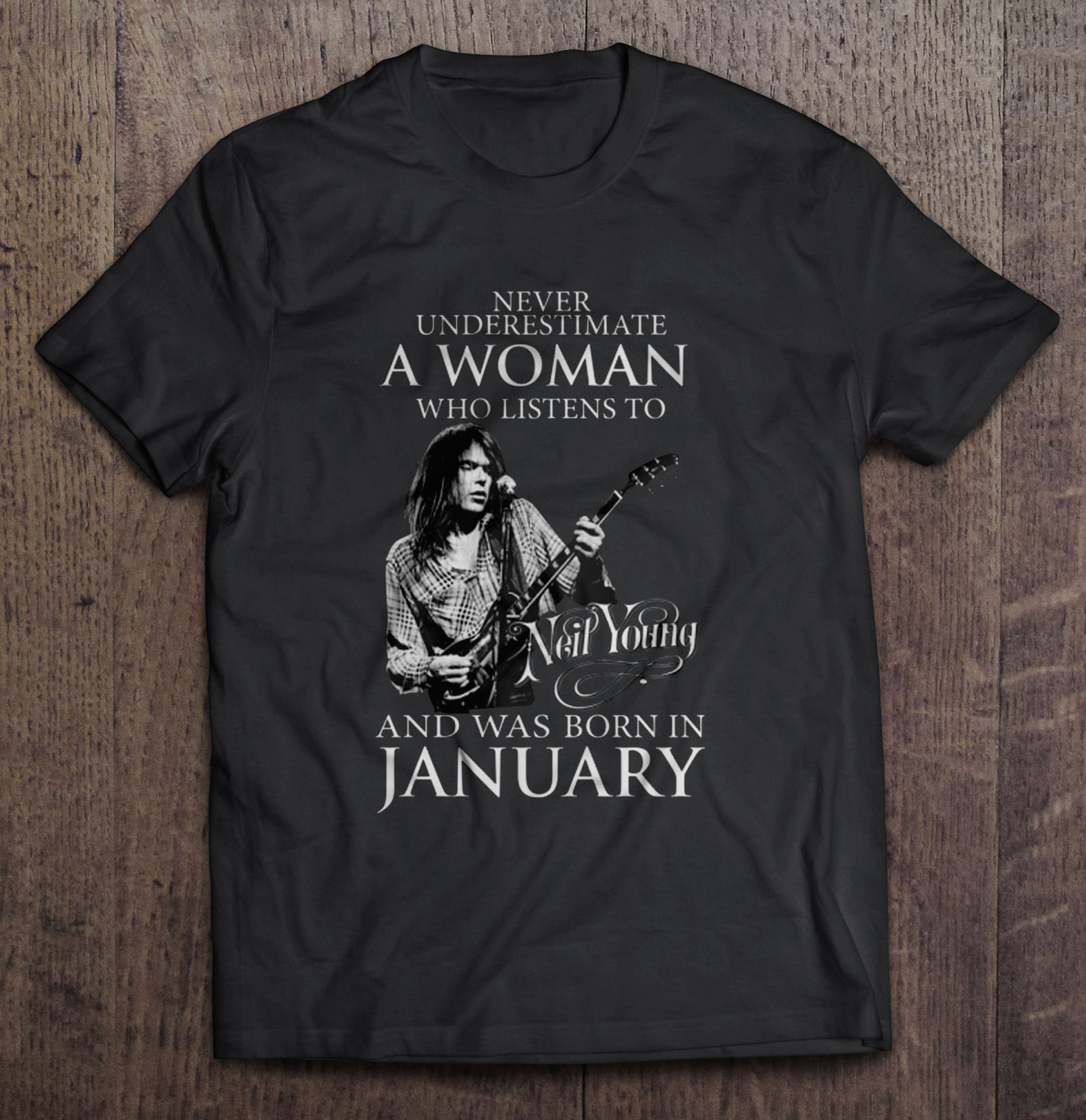 Never Undersestimate A Woman Who was Born in 1973 Adult Crewneck Sweatshirt