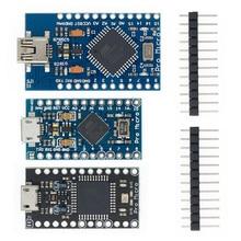 10 шт. мини USB ATmega32U4 Pro Micro 5 в 16 МГц плата модуль для Arduino/Leonardo ATMega 32U4 контроллер Pro Micro замена Pro Mini
