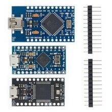 10pcs 미니 USB ATmega32U4 프로 마이크로 5V 16MHz 보드 모듈 Arduino/Leonardo ATMega 32U4 컨트롤러 Pro Micro Replace Pro Mini