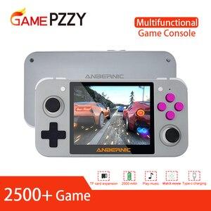 Image 1 - Newest RG 350 retro handheld Video game console portatil mini game console retro 64bit opendingux 3.5inch IPS screen 2500+ games