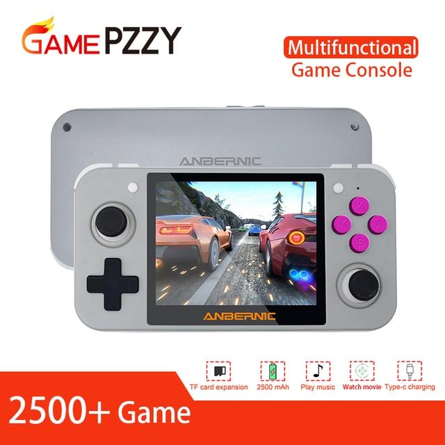 Newest RG 350 retro handheld Video game console portatil mini game console retro 64bit opendingux 3.5inch IPS screen 2500+ games