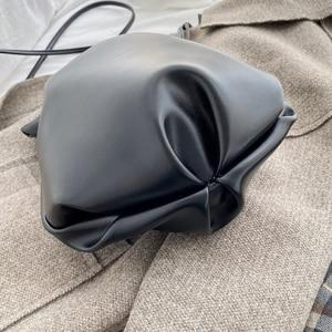 Image 4 - 2020 New Women Bag PU Leather Youth Drawstring Bucket Bag Japan Lucky Bag Ladies Handbag Small Crossbody Shoulder Bag Whole Sale