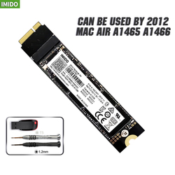 Новый 256 ГБ SSD для 2012 Macbook Air A1465 A1466 Md231 Md232 Md223 Md224 твердотельный накопитель MAC SSD