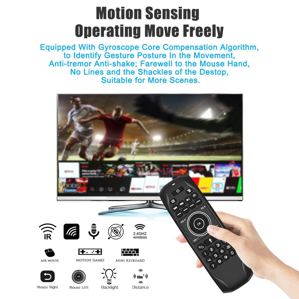 L8STAR Fly-Air-Mouse Keyboard Remote-Control Ir-Learning Universal Android Wireless Backlit