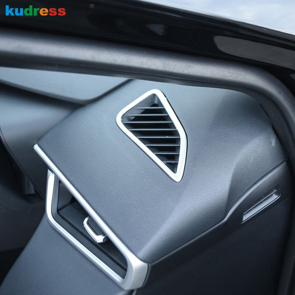 For Toyota Corolla 2019 2020 Hatchback Interior Black Baking Varnish Air Condition Vent Outlet Cover Trim Auto Accessories