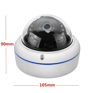 Image 4 - Full HD 1080P Dome Fisheye AHD Security Camera 20M IR 180 Degree Angle 2MP 4MP AHD Infrared CCTV Camera with OSD Cable