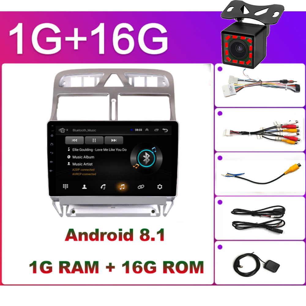 OEM You Want 2 Din Android Android 8.1 Car GPS Multimedia Player For hyundai solaris peugeot 307SW Collora Kia Rio Sportage