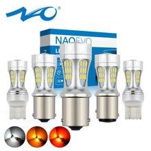 Автомобильная светодиодная лампа NAO P21W PY21W P21 5W T20 светодиодный LED 7443 BA15S auto 12V bay15d 1156 W21W W21/5W 1157 BAU15S T25 7440 3156 DRL