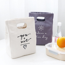 Модная переносная сумка для ланча с буквами, большой охладитель для пикника, утепленная термопищевая коробка для льда, вместительная многофункциональная женская утепленная Сумка-тоут
