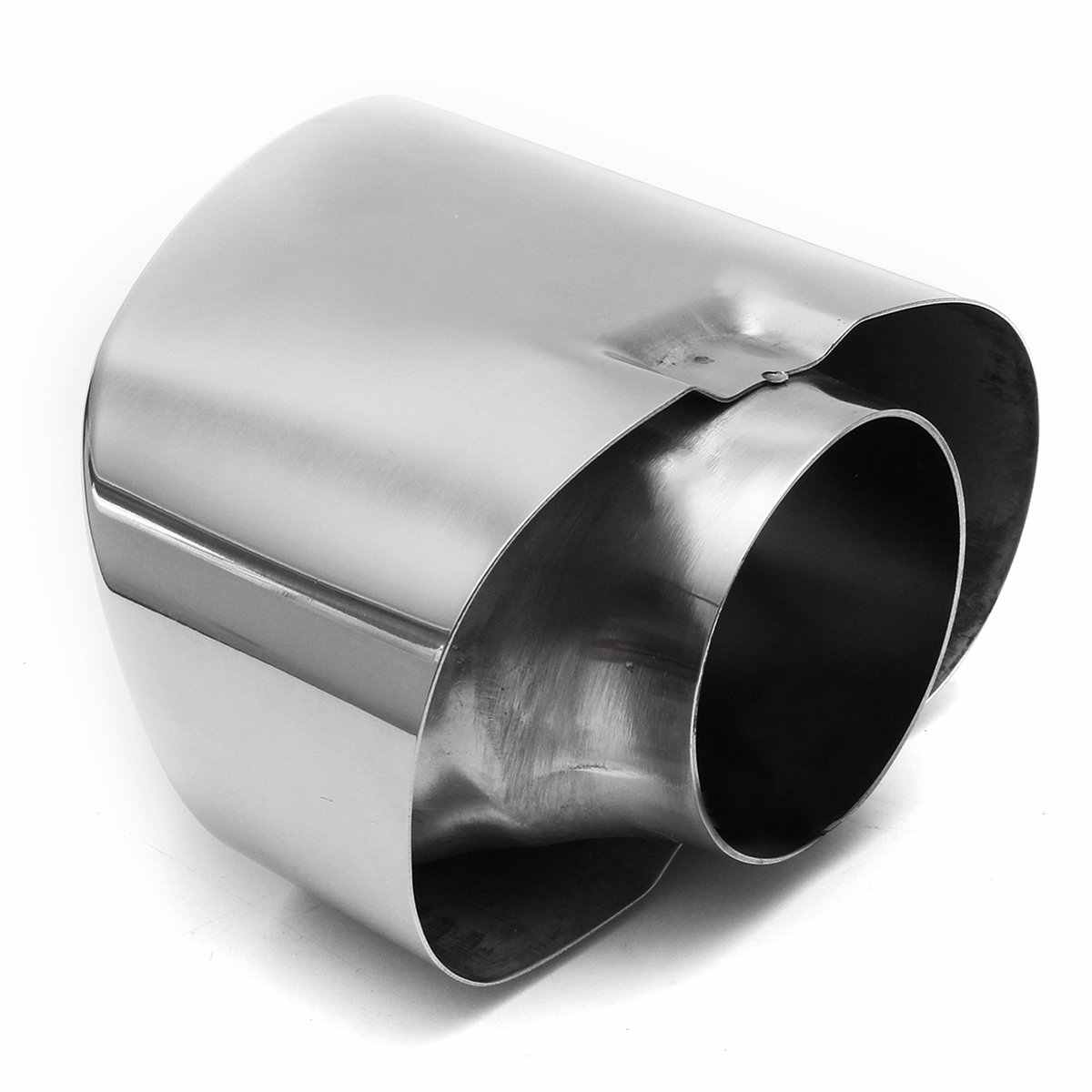 MIOAHD Chrome Exhaust Dual Tail Pipe Muffler Tip Stainless Steel,Fit for BMW X5 E70 2008 2009 2010 2011 2012 2013