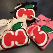 Женские толстовки с капюшоном, модная зимняя толстовка с вышитым яблоком и буквенным принтом, повседневные толстовки с капюшоном, есть логотип, пуловеры для поклонников