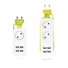Get more info on the 1200W Power Strip EU Plug 4 USB Port adapter 1.5M Cable Board Wall Multiple Socket Charger for Mobile Phone Smartphones Tablets