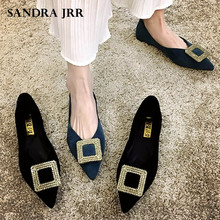 casual women shoes casual slip on flats women shoes new flock pointed toe butterfly knot ballet dancing shoes mujer zapatos w138 SANDRA JRR Women Flat Heel Shoes Crystal Pointed Toe Slip On Sexy V Mouth Casual Ballet Flats Lady Weekends Shoes Drive Shoes