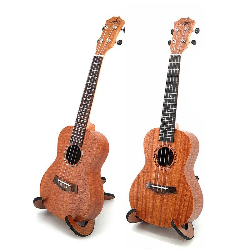 Ukulélé 21 pouces ukulélé concert sapélé Soprano 4 cordes Uke Hawaii basse à cordes guitare musicale débutant cadeau populaire