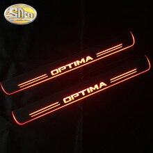 SNCN 4 шт., акриловый подвижный светодиодный автомобильный светильник с педалью для Kia Optima K5 2011