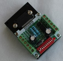 THB7128 Driver 57 Stepper Motor Driver Board 128 Subdivision Engraving Machine Accessories thb7128 step motor drive control panel 128 3 a current subdivision control module