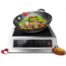 3500W Commercial Induction Cooker High Power Hotel Stove Furnace Cooktop