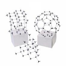 УГЛЕРОДНЫЙ аллотроп химическая модель диаметр 9 мм общие и Органические химические модели школьный университет лаборатория учебное оборудование