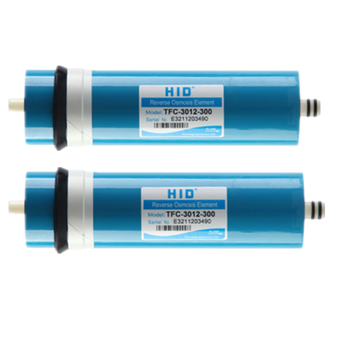 2pcs 400 gpd kitchen water filter HID TFC-3012-300G membrane filters for water cartridges ro system filter membrane