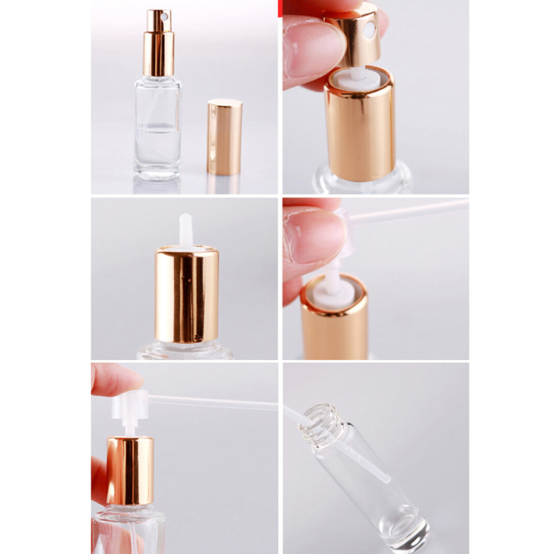 10Pcs/Bag Perfume Refill Tools Diffuser Funnels Cosmetic Pump Dispenser Portable New Sprayer Refill Pump Bottle Filling Device