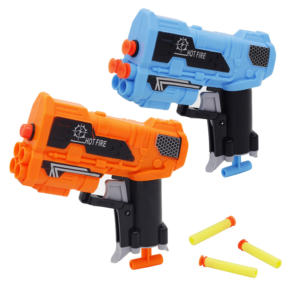 Cross Border Foreign Trade Toy Soft Bullet Gun Children Military Model Toy Soft Bullet Gun Stall At The School Gate Supply Of Go
