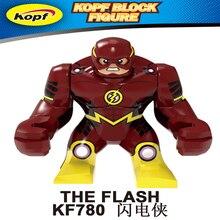 Legoing Marvel флэш-блок Fiqures Супермен, Мстители детские игрушки большой размер экшн-модель Фигурка строительные блоки Legoing Thanos
