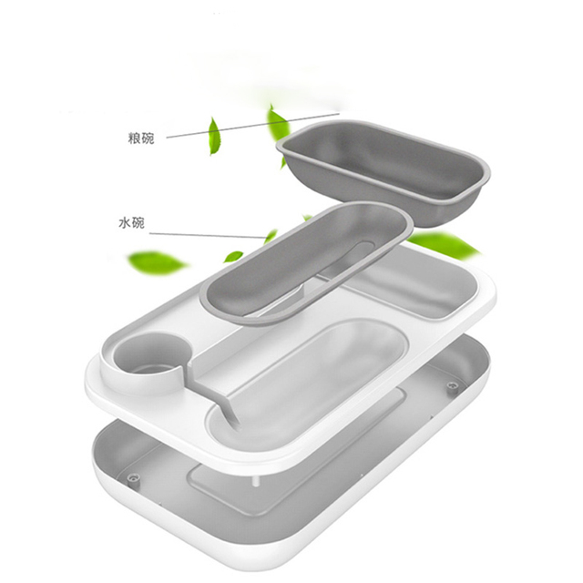 4 Style Pet Cat Bowl Dog for Cats Feeder Bowls Kitten Automatic Drinking Fountain 1.5L Capacity  3