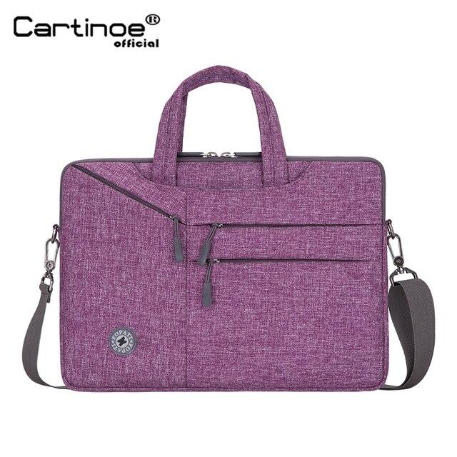 حقيبة كمبيوتر محمول من Cartinoe مقاس 15.6 بوصة مخصصة للكمبيوتر المحمول طراز makbook Pro 15 حقيبة كمبيوتر محمول مقاس 13.3 بوصة/14/15 بوصة مقاس 14 بوصة لأجهزة Macbook Air Pro 13