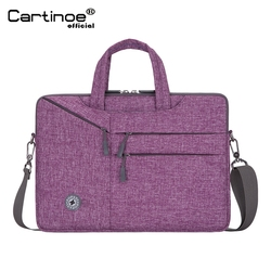 Cartinoe Tas Laptop 15.6 untuk MacBook Pro 15 Tas Notebook 13.3/14/15 Inch Laptop Sleeve 14 Inch untuk Macbook Air Pro 13
