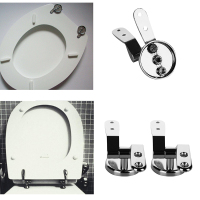 Toilet Mountings Gasket Nut 1 Set Hinge Replacement Toilet Seat Hinge Tool Part Accessories