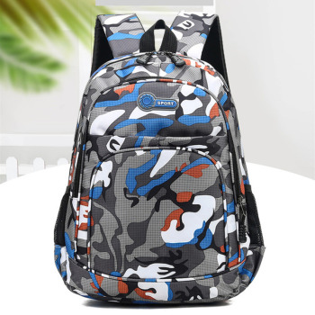 2020 Camouflage School Bags For Boys Girls Children Backpack Kids Book Bag Mochila Escolar Schoolbag Schooltas Cartable Enfant - discount item  39% OFF School Bags