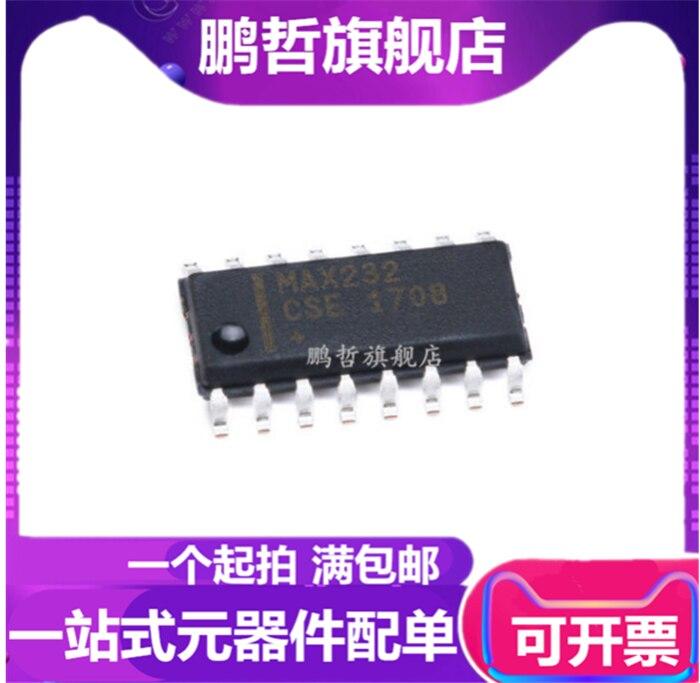 10 PCS MAX232ACSE SOP-16 SMD MAX232 RS-232 Drivers//Receivers NEW