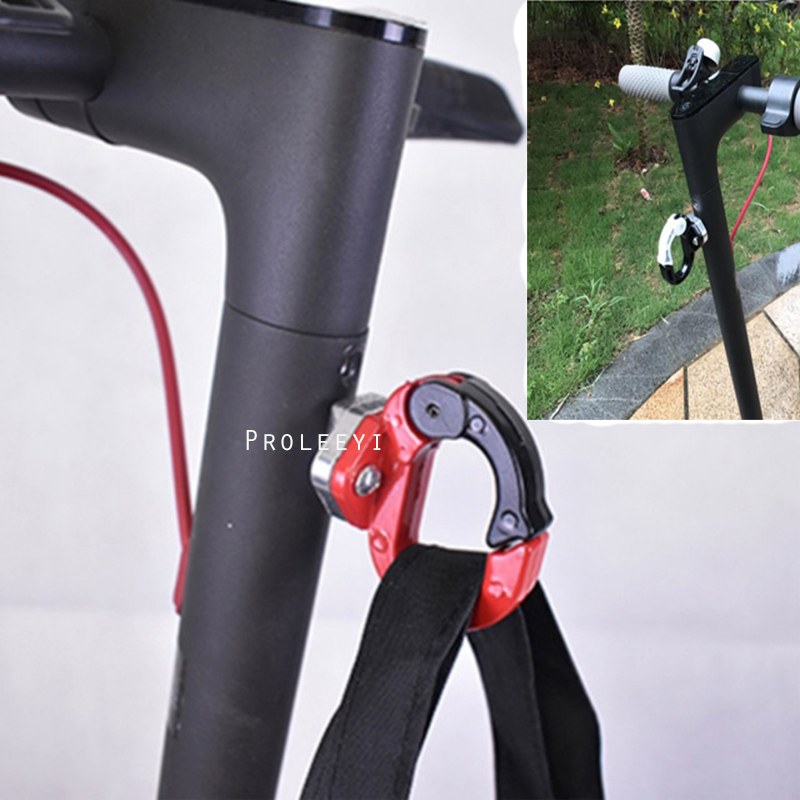 Bike Scooter Aluminium Hook Metal Claw Hanging Bags for Xiaomi Mijia M365 Electric Scooter Hanger Gadget Metal Hook
