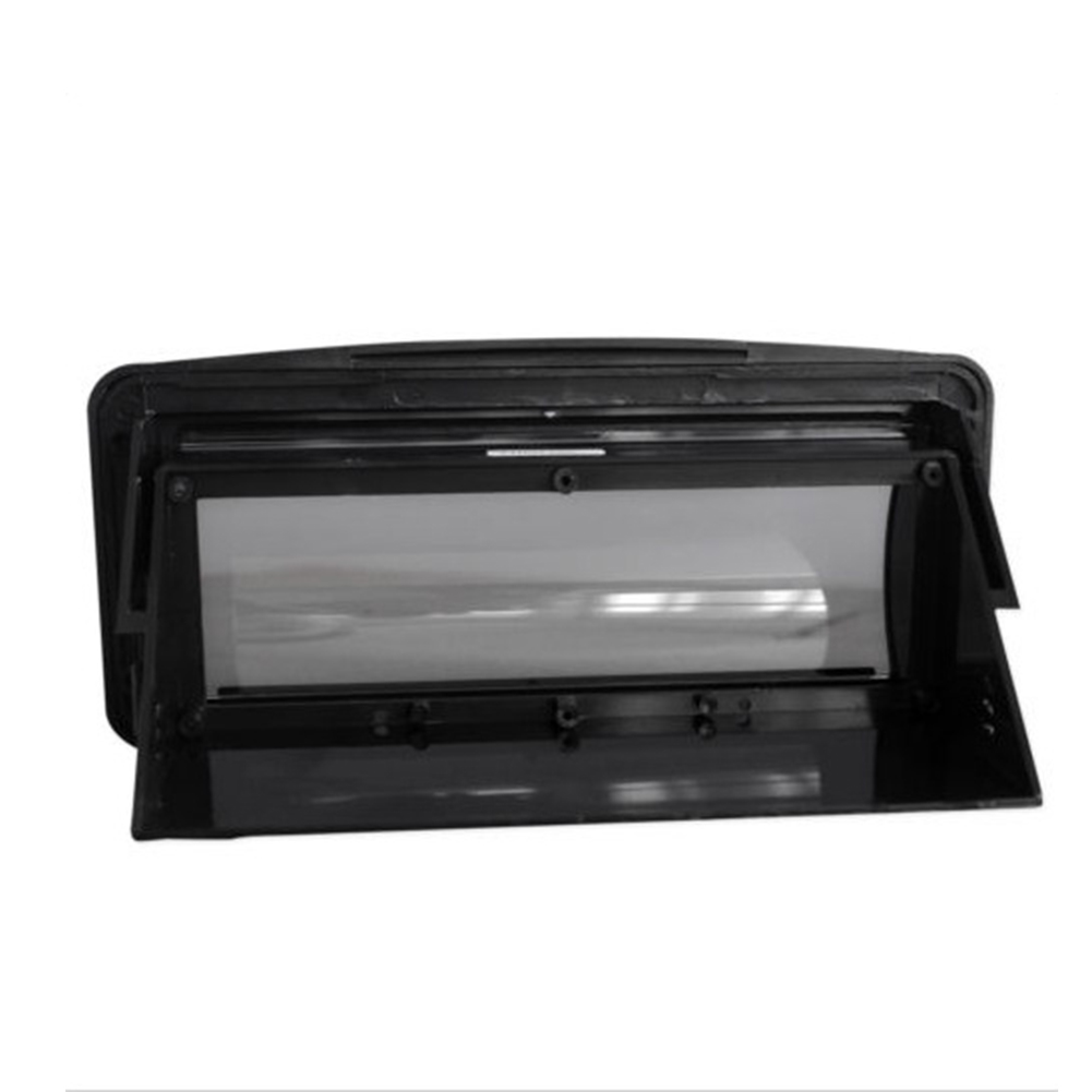 Easy Install Radio Protective Cover Moisture Resistance Replacement CD Player Frame Deck Pocket Marine Boat Removable Waterproof