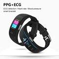 P3 Plus смарт-браслет ЭКГ PPG фитнес-трекер Браслет Монитор артериального давления спортивные Смарт-часы для IOS Phone Huawe Xiomi