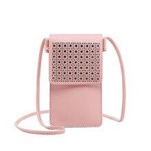New mobile phone bag female slung 2020 new touch screen coin purse small vertical mini
