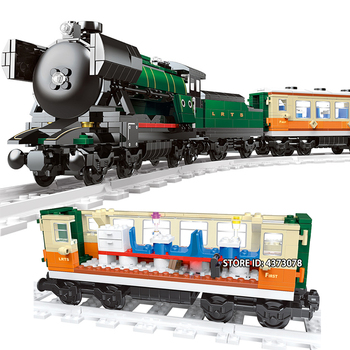 Updated Version Technic City Series Emerald Night Train Set Not Compatible With the Original 10194 Set