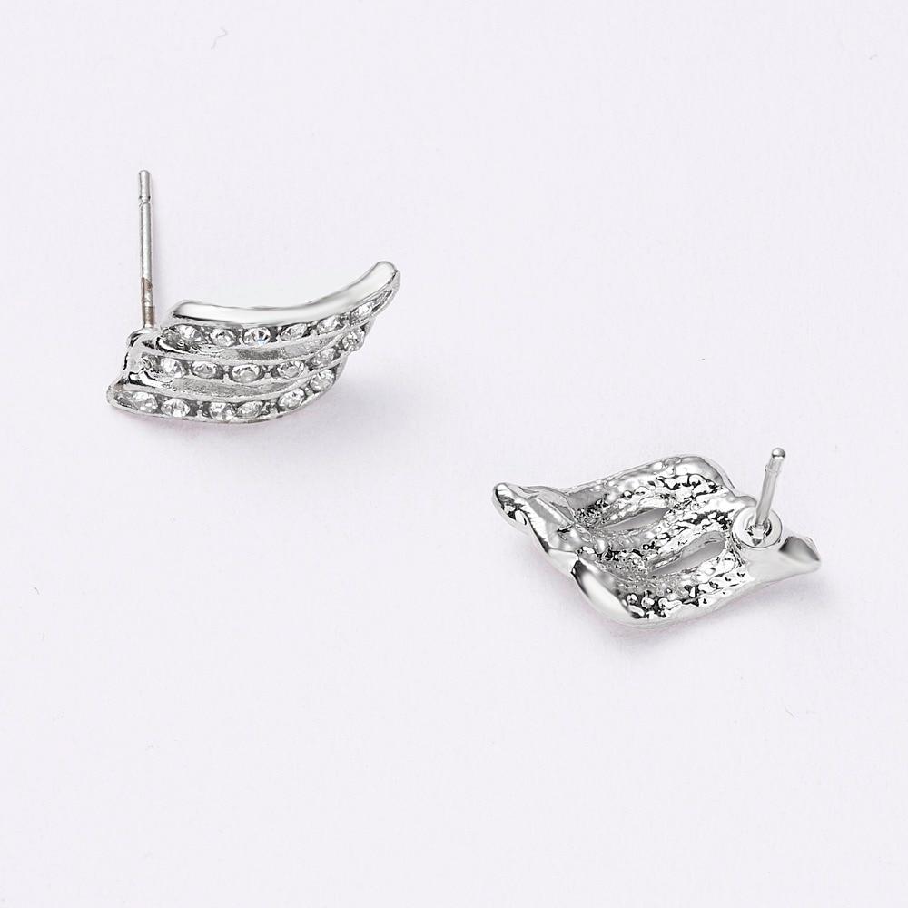 12 Pairs/set Stud Earrings Set With Card Transparent Zircon Balls Love Flowers Earrings Women Imulated Pearl Earrings Jewelry 118