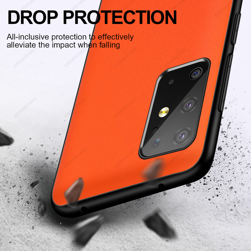 For Samsung S20 Ultra Note 20 Plus A51 A71 Case Original Luxury Leather Full Protection Cover for Samsung Galaxy S20 Plus Case