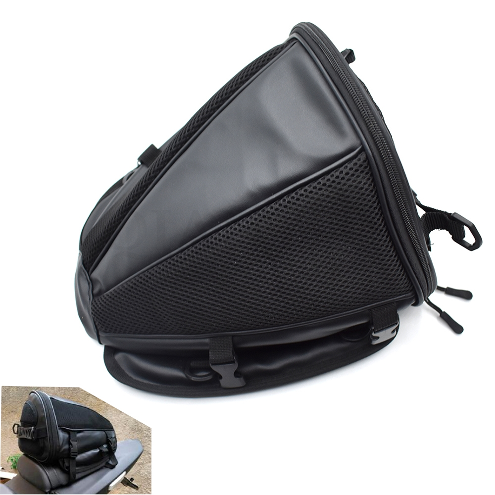 2019 Universal Motorcycle Tail Bag Seat Package For <font><b>Suzuki</b></font> GSXR1300 GSX650F GSX1250 <font><b>TL1000R</b></font> GSF1250 650 BANDIT DL1000 V-STROM GS image