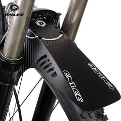 Enlee pára-choques da bicicleta frente/roda de pneu traseiro universal paralama para mtb bicicleta estrada asas guarda lama acessórios ciclismo fender
