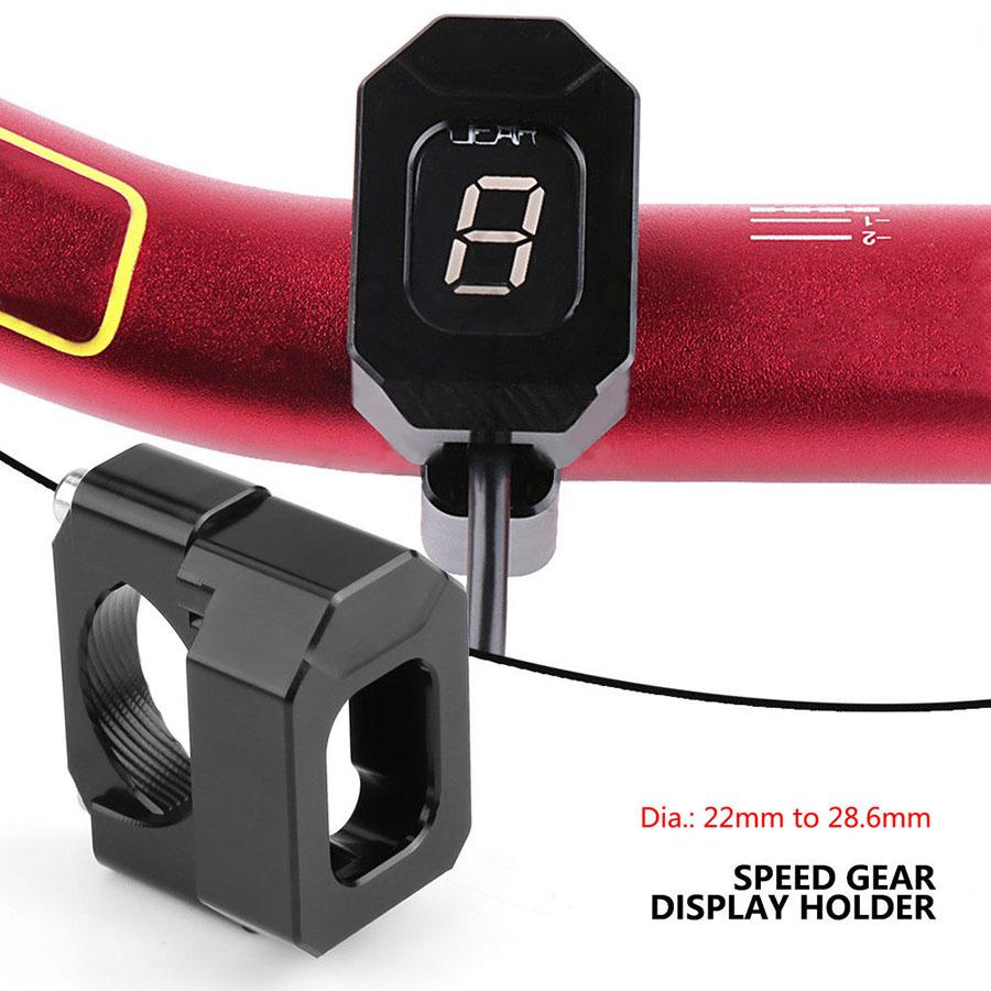 Universal Motorcycle Speed Gear Display Indicator Holder Bracket for Honda Yamaha Kawasaki Suzuki Motorcycle speedometer