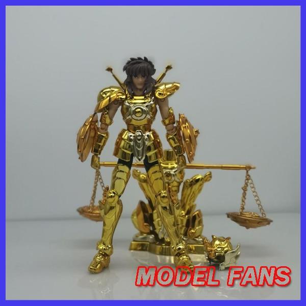 Figurine d'action en tissu, modèle de FANS, DDP, 100mm, EX gold, saint Libra Dohko, avec objet, armure en métal, jouet, en STOCK