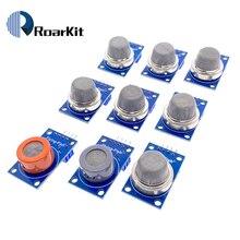 Gas detection module MQ 2 MQ 3 MQ 4 MQ 5 MQ 6 MQ 7 MQ 8 MQ 9 MQ 135 each of them 1pcs total 9pcs sensor for arduino kit
