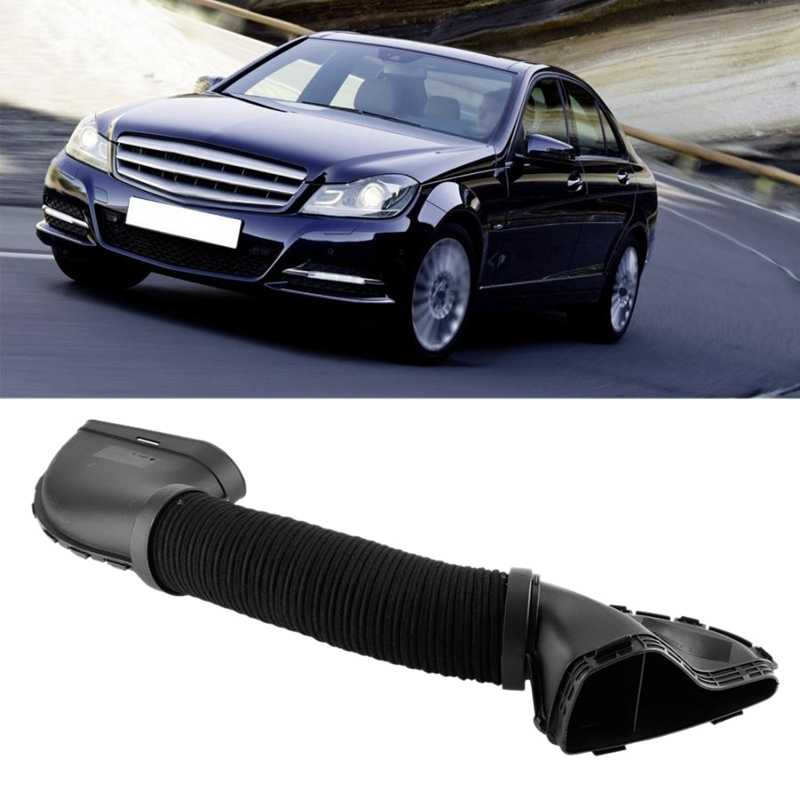 Car Engine Air Intake Hose Filter Hose Pipe for Mercedes-Benz C-Class W204 2007-2014 C180 2010-2012 C200 2007-2010 2710900582