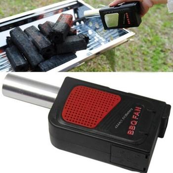 Dmuchawa do grilla grill przenośne elektryczne wentylator BBQ dmuchawa powietrza narzędzia piknik odkryty Camping BBQ tanie i dobre opinie MISS ROSE CN (pochodzenie) Lighters